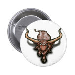 Longhorn Pinback Button