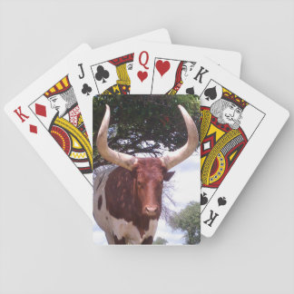 Longhorn Playing Cards