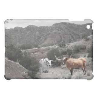 Longhorn Ravine Spot Color iPad Case