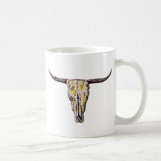 Longhorn Scull Art Coffee Mug