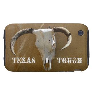 Longhorn Skull-Texas Tough iPhone 3 Cases