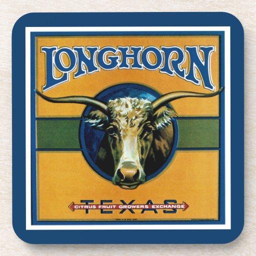 Longhorn Texas Drink Coaster