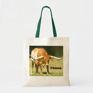 Longhorn Texas Pride Tote Bag