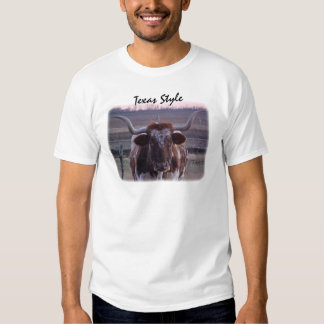 Longhorn, Texas Style Shirt