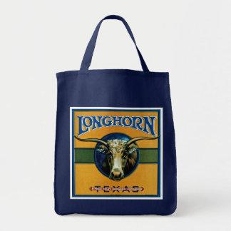 Longhorn Texas Tote Bag