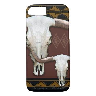 Longhorn Western Skull iPhone 7 Case