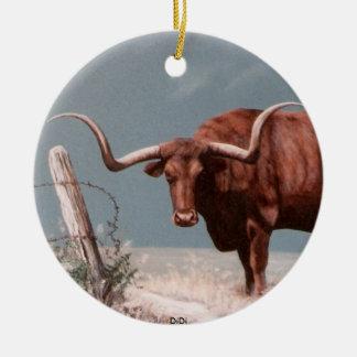 LONGHORNS by DiDi Christmas Ornaments