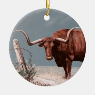 LONGHORNS by DiDi Christmas Ornaments