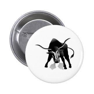 Longhorns Pinback Button