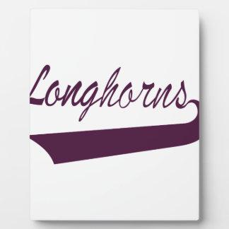Longhorns Plaque
