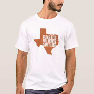 Longhorns Texas Football T-Shirt