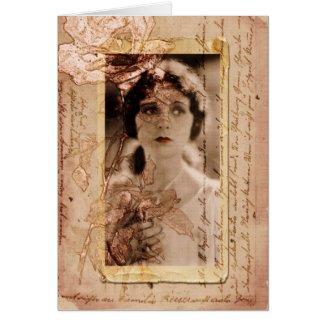 longing card