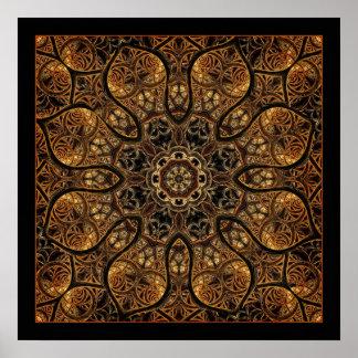 Longing for Home Mandala Poster