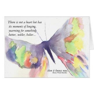 Longing Greeting Card