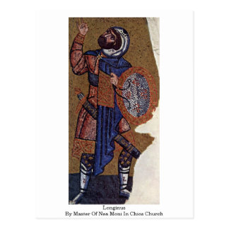 Longinus By Master Of Nea Moni In Chios Church Post Cards