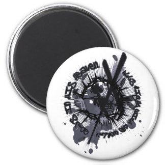 Longinuslanze 2 Inch Round Magnet