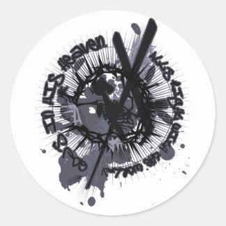 Longinuslanze Classic Round Sticker