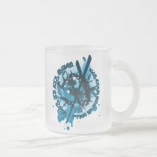 Longinuslanze Frosted Glass Coffee Mug