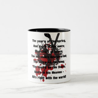 Longinuslanze Two-Tone Coffee Mug