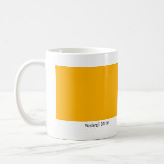 Longitud de onda 600 nanómetro taza de café