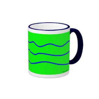 Longitud de onda taza de dos colores
