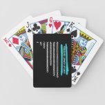 Longitud percibida de días baraja de cartas