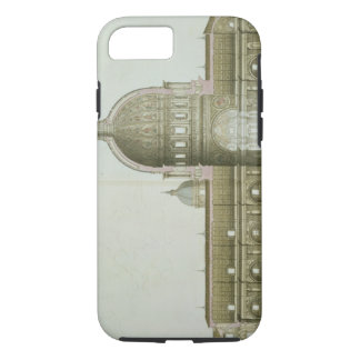 Longitudinal Cross-Section of St. Peter's in Rome, iPhone 8/7 Case
