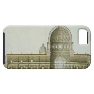 Longitudinal Cross-Section of St. Peter's in Rome, iPhone SE/5/5s Case