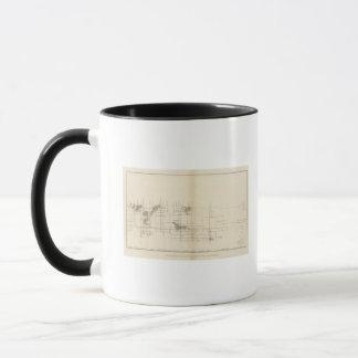 Longitudinal Vertical Projection I Comstock Lode Mug