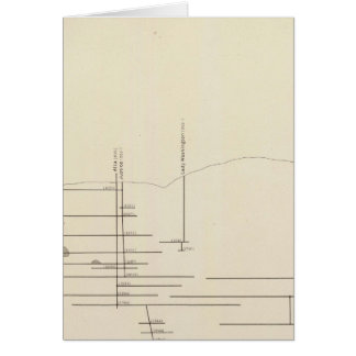 Longitudinal Vertical Projection III Comstock Lode Card