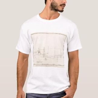Longitudinal Vertical Projection III Comstock Lode T-Shirt
