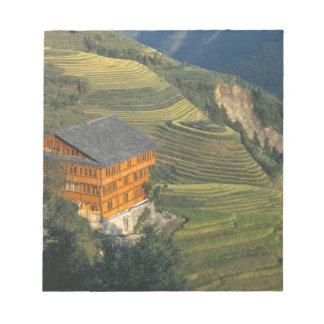 Longji, Guangxi Province, China Memo Note Pads