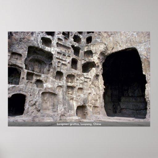 Longmen grottos, Luoyang, China Posters