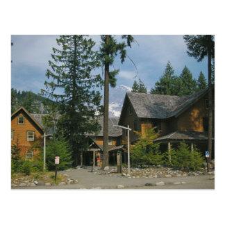 Longmire Inn at Mt. Rainier Postcard