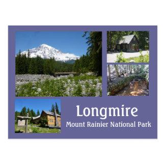 Longmire (Mount Rainier) Collage Postcard