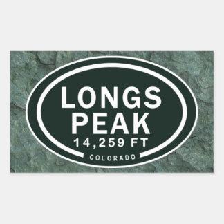 Longs Peak 14,259 FT CO Mountain Stickers