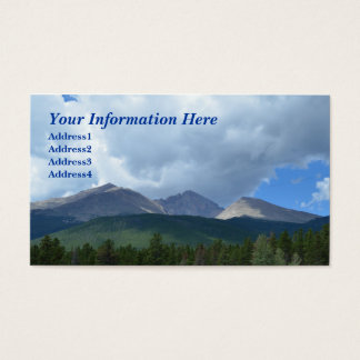 Longs Peak, Rocky Mountain Nat. Park Business Card