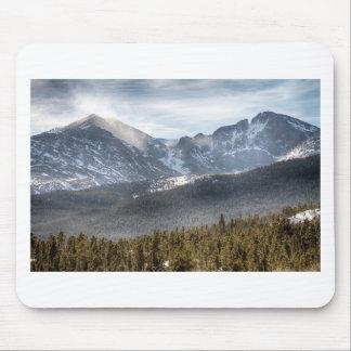 Longs Peak Winter View Mouse Pad