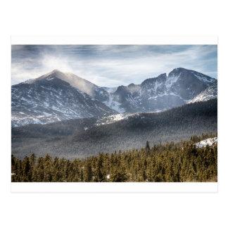 Longs Peak Winter View Postcard