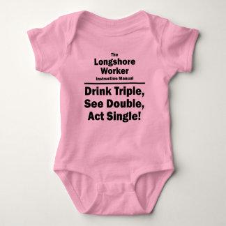 longshore worker baby bodysuit