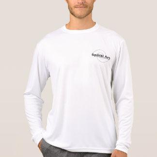 longsleeve spiiral del arte camiseta