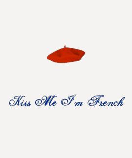 Longsleeve tshirt kiss me I'm french
