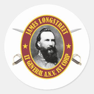 Longstreet -AFGM Classic Round Sticker