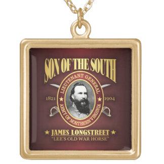 Longstreet (SOTS2) Square Pendant Necklace