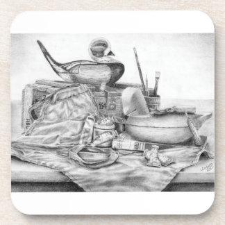 Longtail Decoy Still Life Coasters (Lori Corbett)