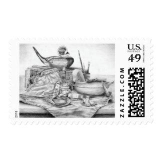 Longtail Decoy Still Life Postage (Lori Corbett)