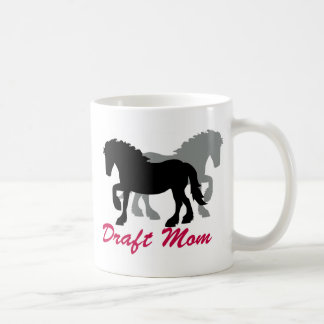 Longtail Draft Mom Classic White Coffee Mug
