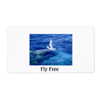 LONGTAIL, Fly Free Shipping Label