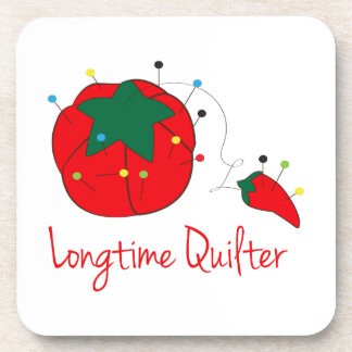 Longtime Quilter Coaster