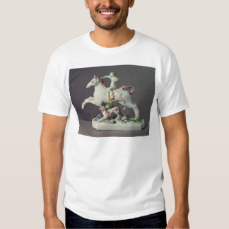 Longton Hall figure of Cupid riding a horse Shirt